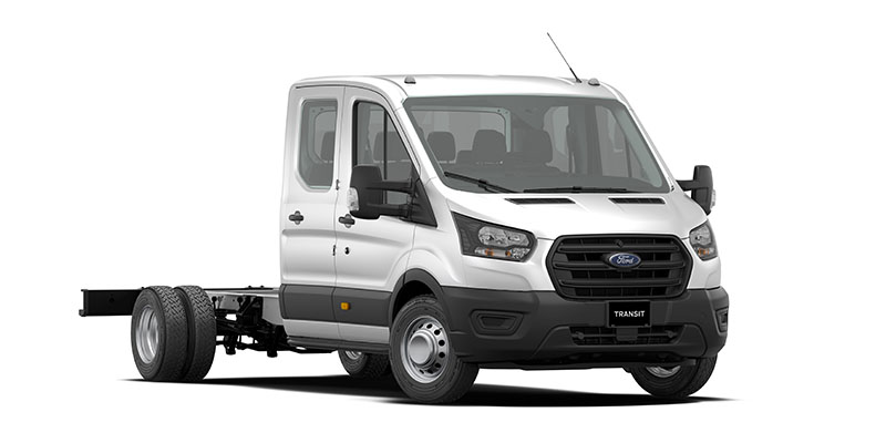 470E Double Cab Chassis (Transit Cab Chassis)