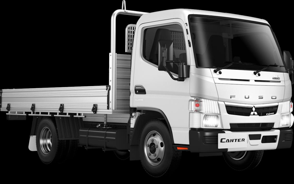 2021 MY20 Fuso 515 City Cab Alloy Tray Truck
