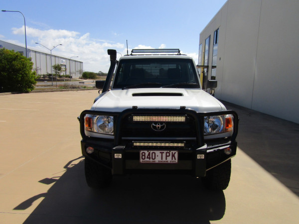 2013 Toyota Landcruiser VDJ79R MY13 GX Cab chassis Image 4
