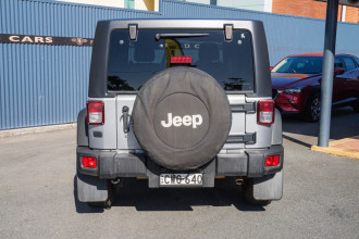 2014 Jeep Wrangler JK MY14 Unlimited Sport Softtop Image 3