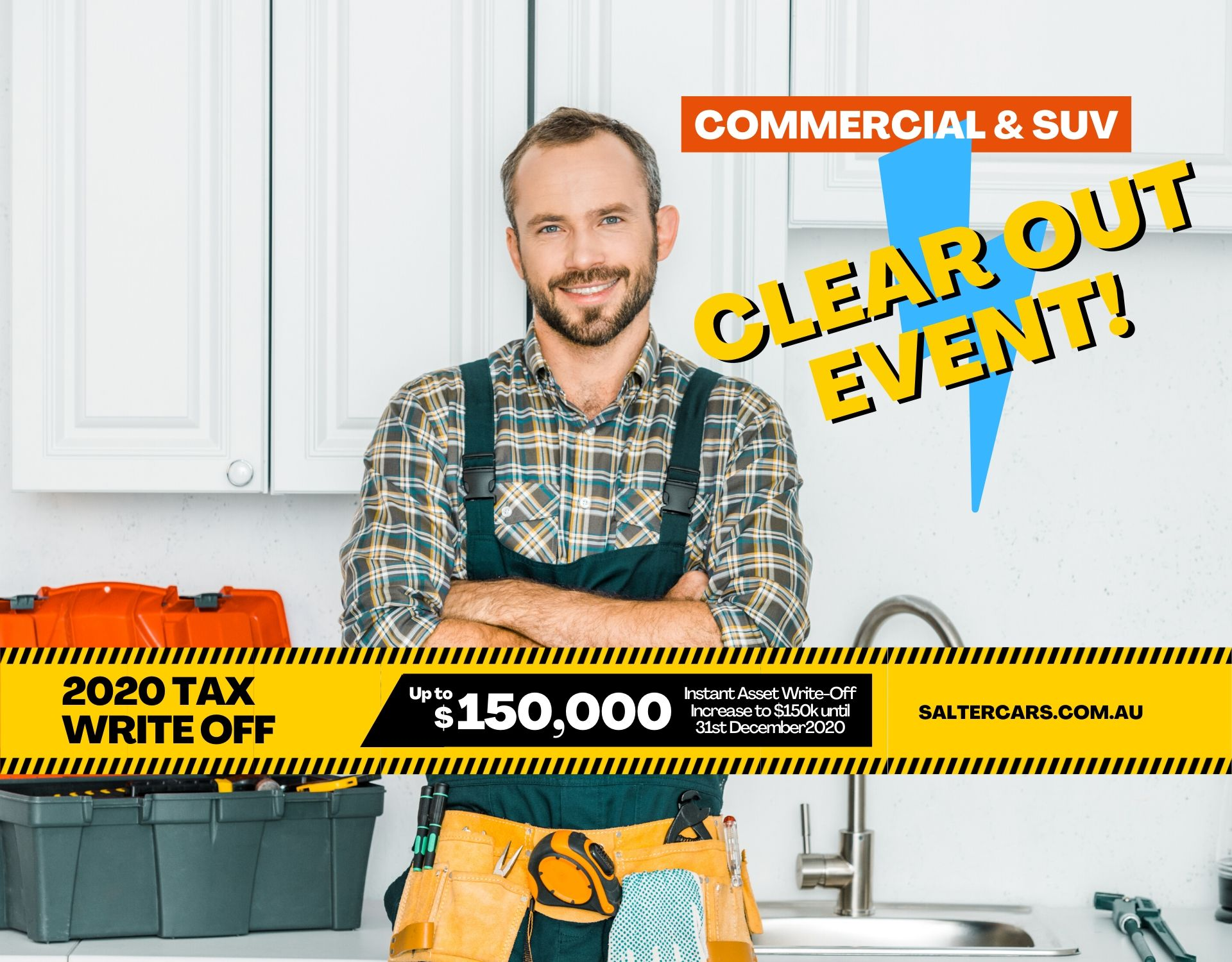 Commercial and SUV Clear Out Event!