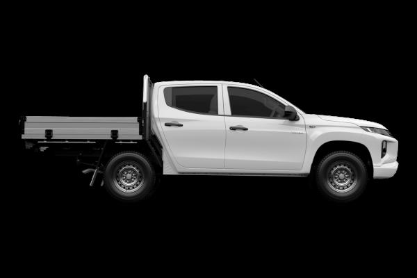 2021 Mitsubishi Triton MR GLX ADAS Double Cab Chassis 4WD Utility Image 2