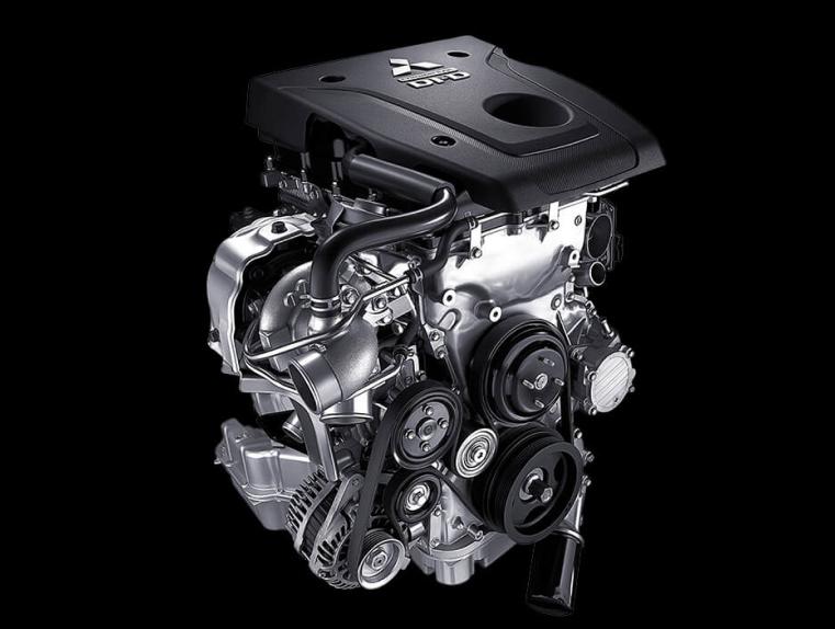 2.4 litre MIVEC turbo diesel engine Image