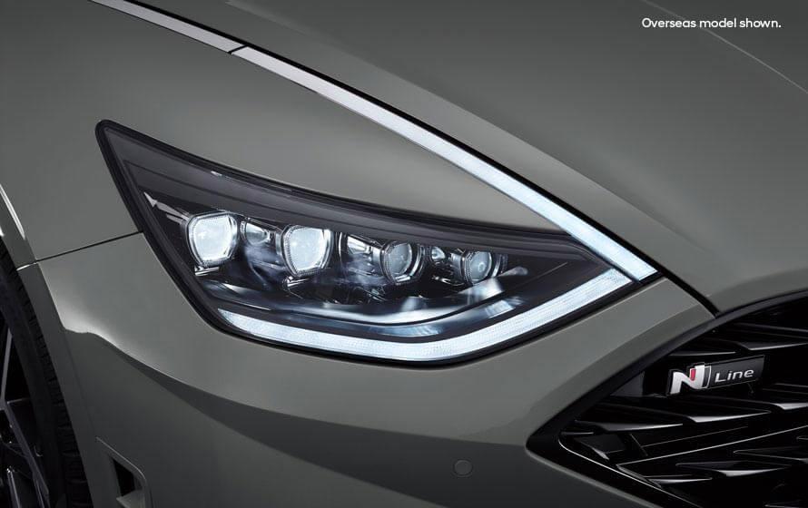 Sonata N Line Secret LEDs.
