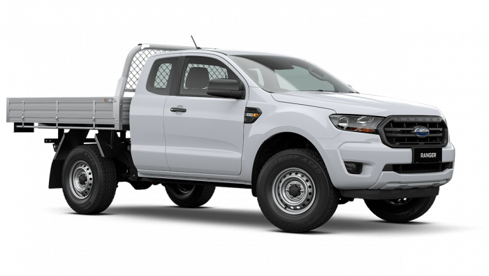 2020 MY21.25 Ford Ranger PX MkIII XL Super Cab Chassis Ute Image 2