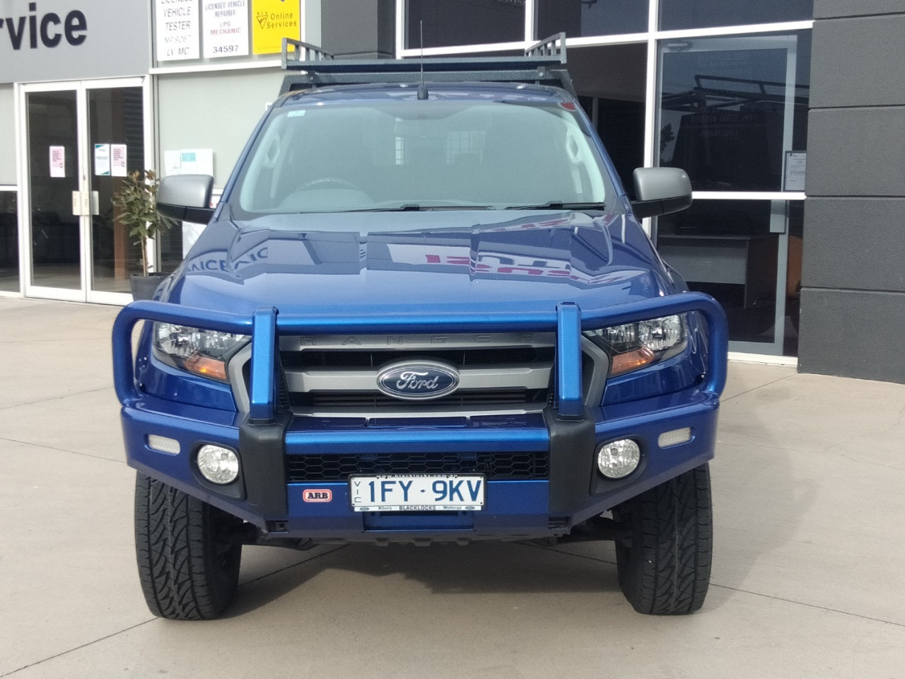 2016 Ford Ranger PX MKII XLS Utility Image 3
