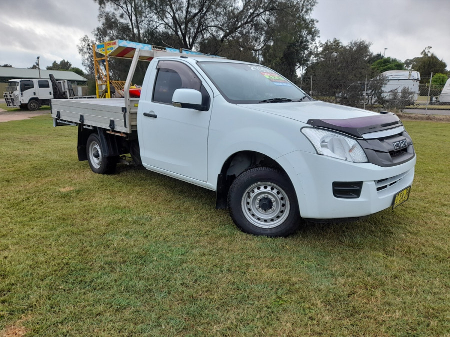 2015 MY15.5 Isuzu UTE D-MAX SX 4x2 Single Cab Chassis Low-Ride Cab chassis Image 1