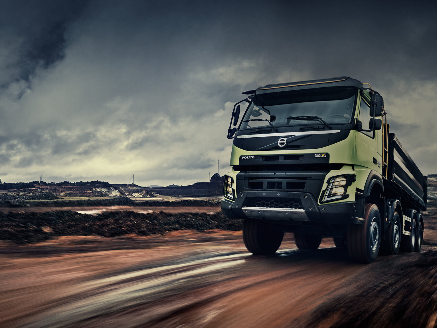 Volvo FMX Built for tough conditions
