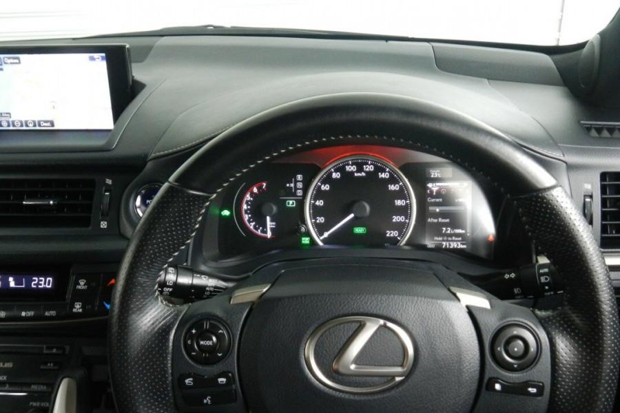 2015 Lexus Ct200h ZWA10R MY15 F Hatchback Mobile Image 11