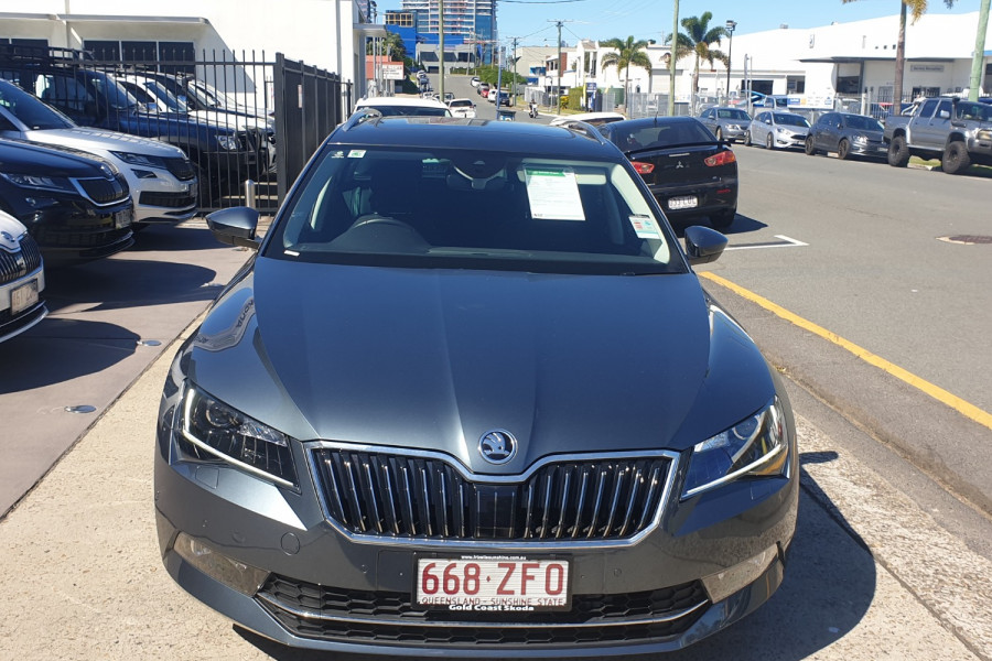 2018 MY19 Skoda Superb NP 162TSI Wagon Wagon