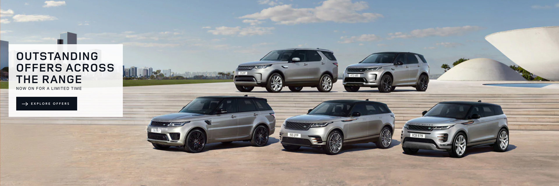 Land Rover January Offers