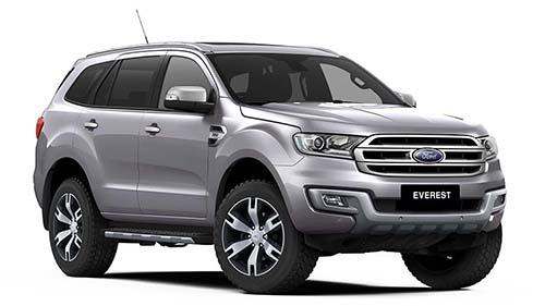 2018 Ford Everest UA Titanium 4WD Wagon