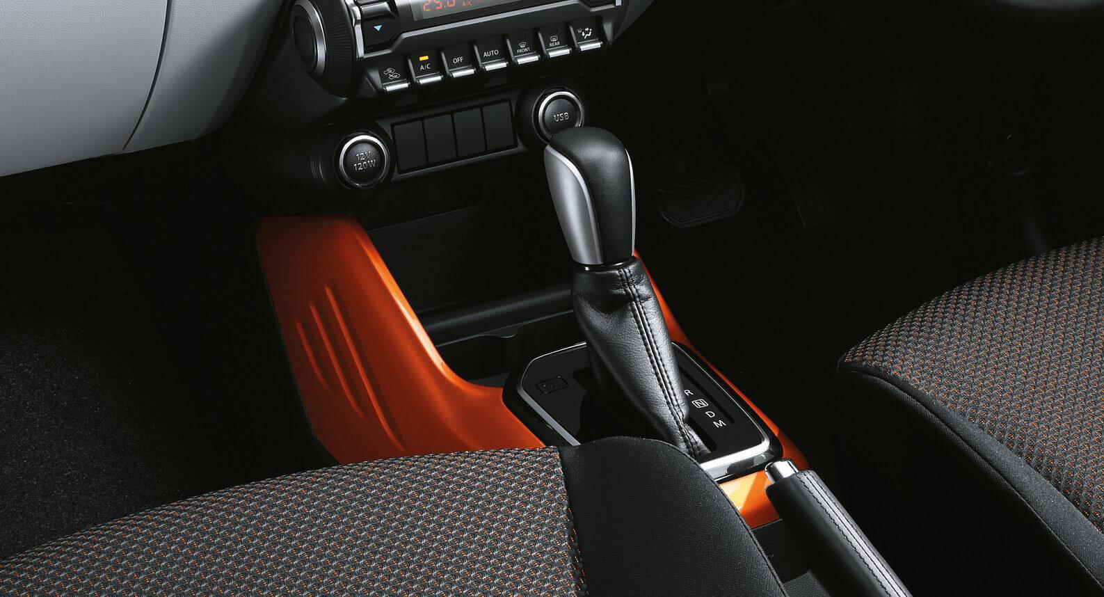 Ignis - Centre Console, Orange