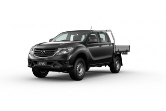 2020 Mazda BT-50 UR 4x4 3.2L Dual Cab Chassis XT Cab chassis Image 2
