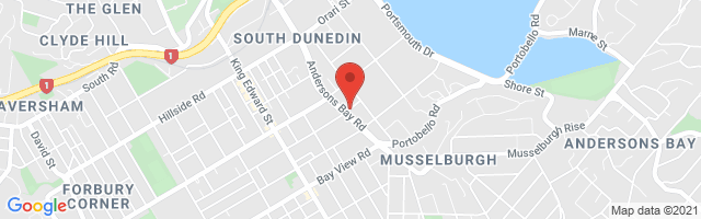 Cooke Howlison MG Dunedin Map