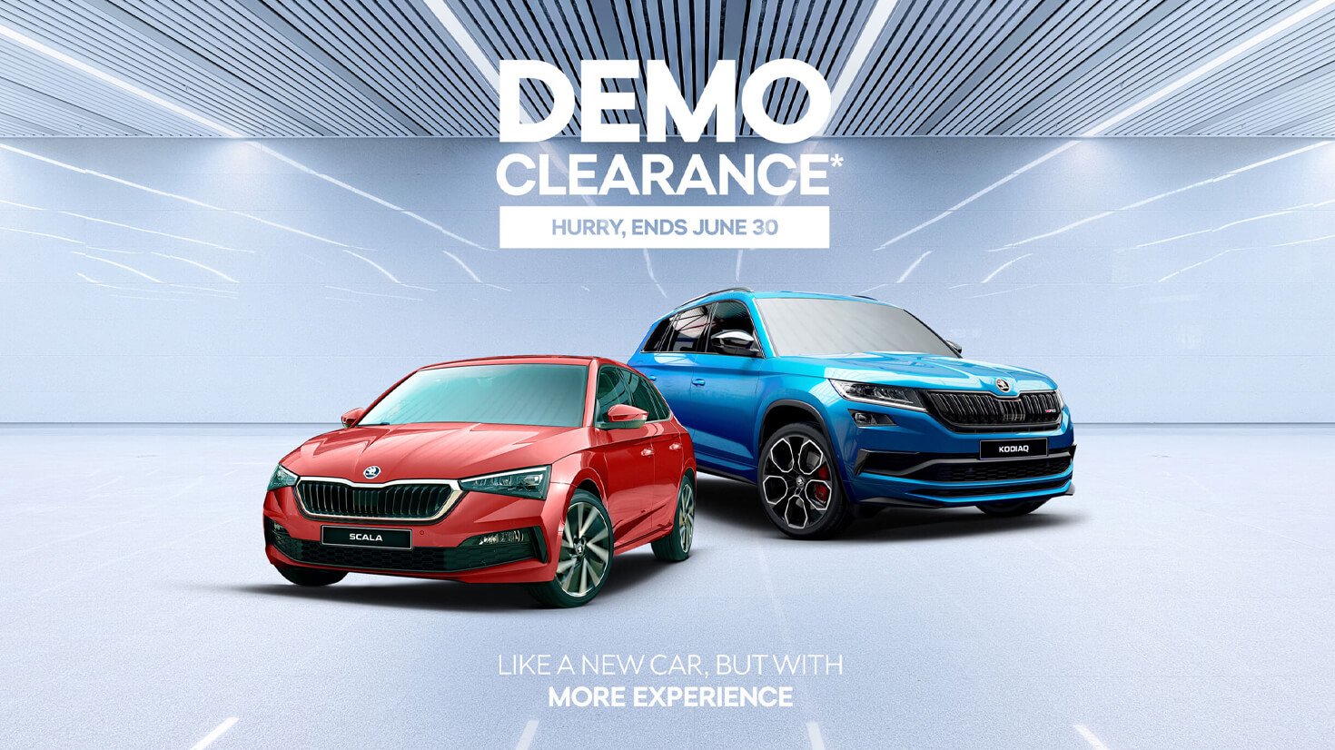DEMO CLEARANCE* <br>HURRY, ENDS JUNE 30