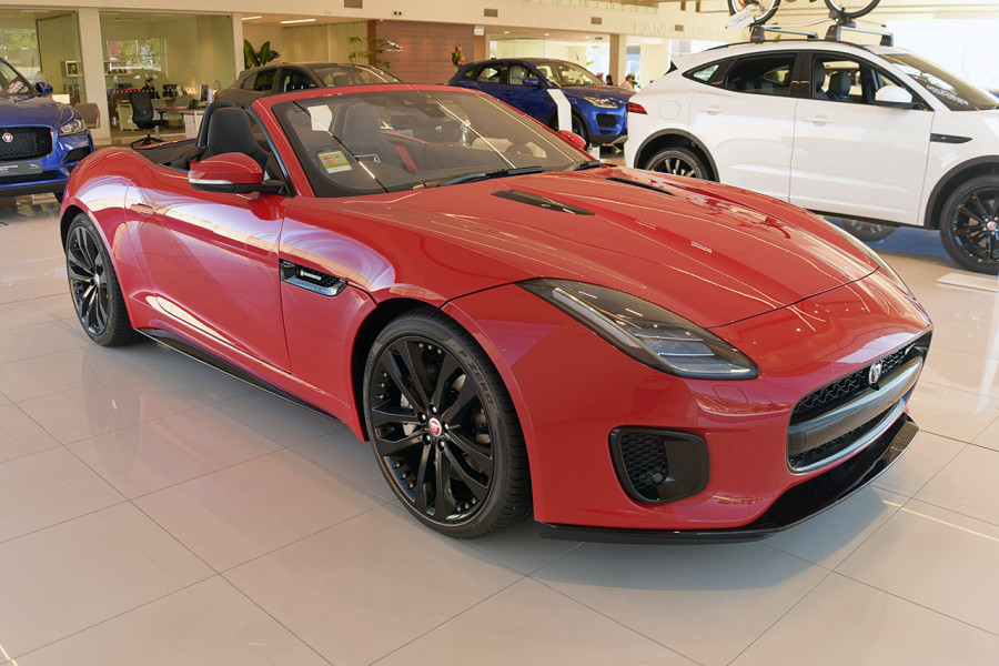 2019 MY19.5 Jaguar F-TYPE X152 R-Dynamic Convertible Convertible