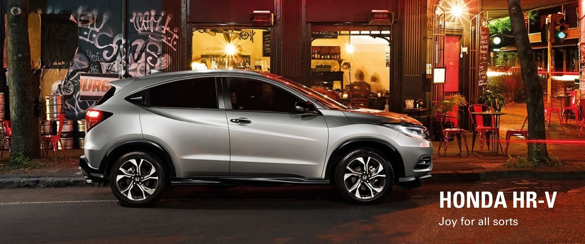 Honda HR-V. Joy for all sorts.