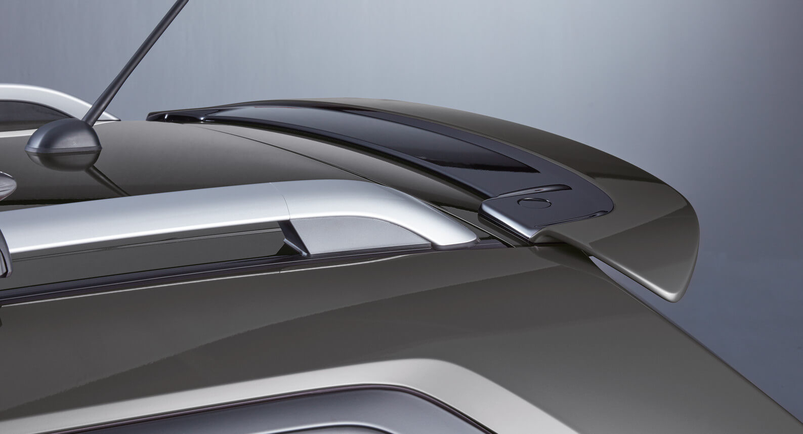Ignis - Roof Edge Spoiler, Mineral Grey