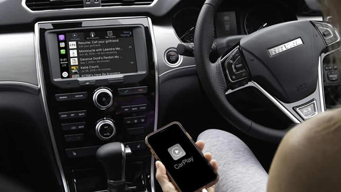 SMARTPHONE. SMARTER SUV. Image