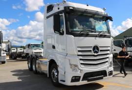 Mercedes-Benz ACTROS 2663 120 TONNE 16 SPEED  2663  Stream Space Sleeper
