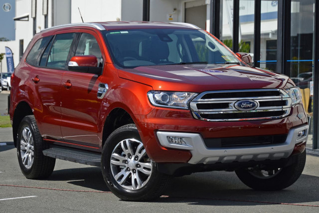 2018 Ford Everest UA Trend 4WD Suv