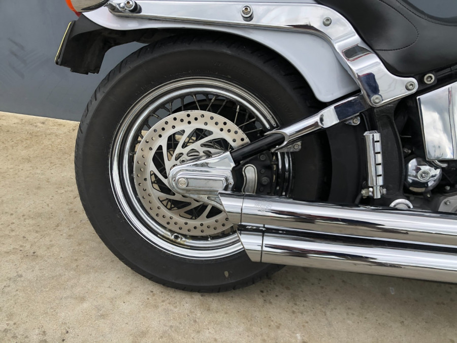 2002 Harley Davidson Softail FXST Standard Motorcycle Image 10
