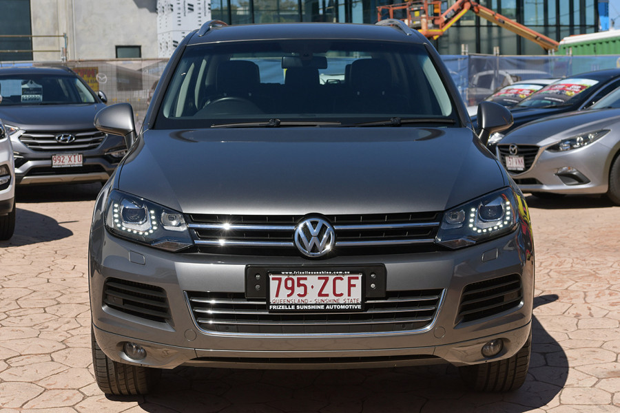 2014 Volkswagen Touareg 7P 150TDI Suv