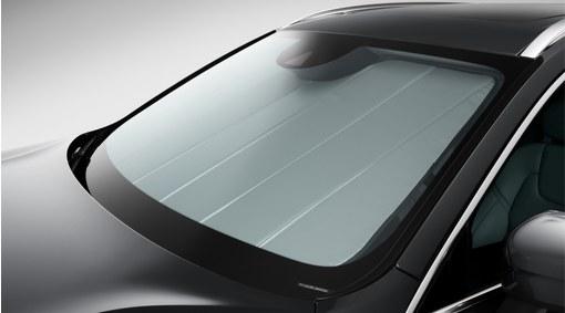 Sunshade for windscreen