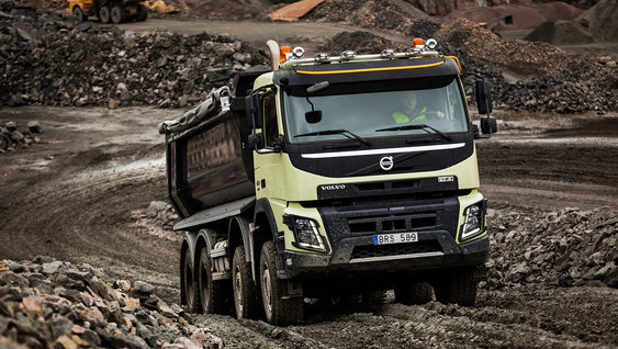 Volvo FMX The most robust truck we've ever built