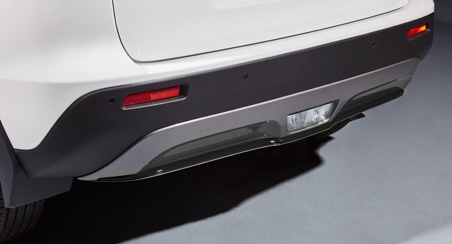 Rear Bumper Centre Accent Line - Matt Black