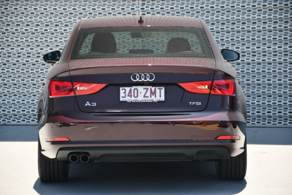 2016 Audi A3 8V MY16 Attraction Sedan Image 4