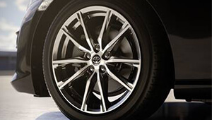 86 Thin spoke alloys