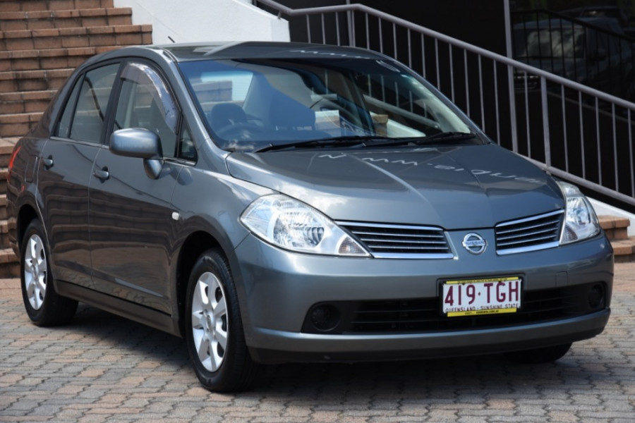 2009 MY07 Nissan Tiida C11 MY07 ST-L Sedan