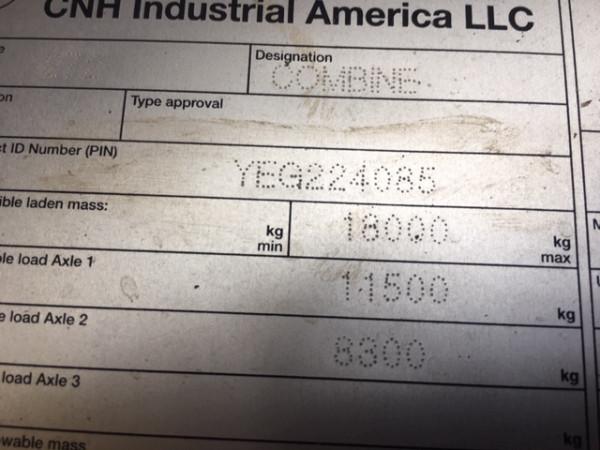2014 Case IH 7230 HEADER Combine front & header