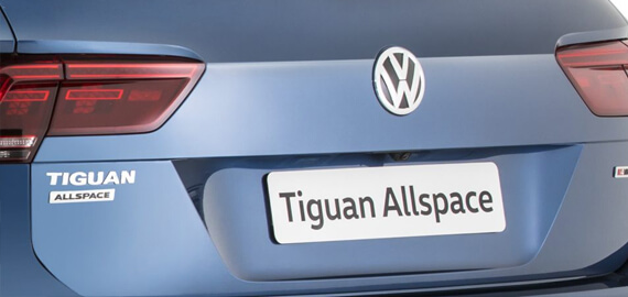 Tiguan Allspace Eyes in the back of your head