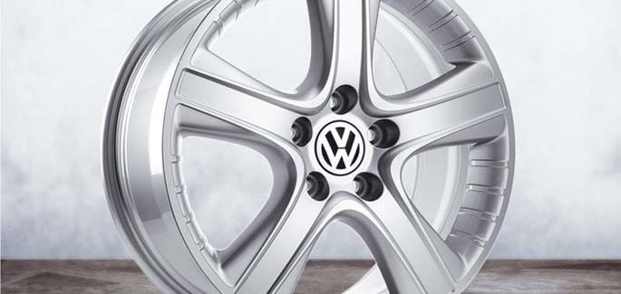 "18"" SilverDakar alloy wheel"