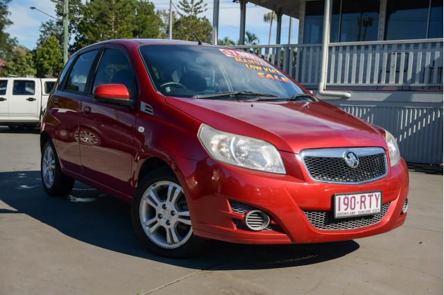2011 Holden Barina TK MY11 Hatchback