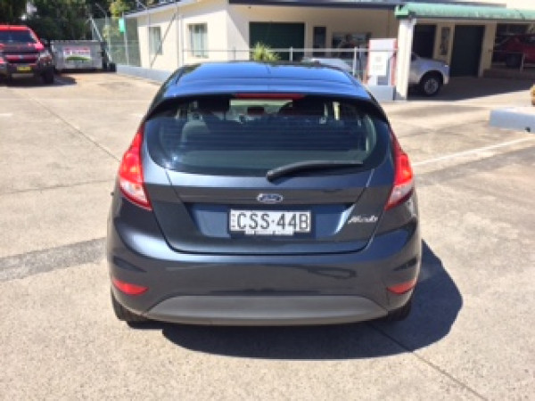 2014 Ford Fiesta WZ MY15 Ambiente Hatchback