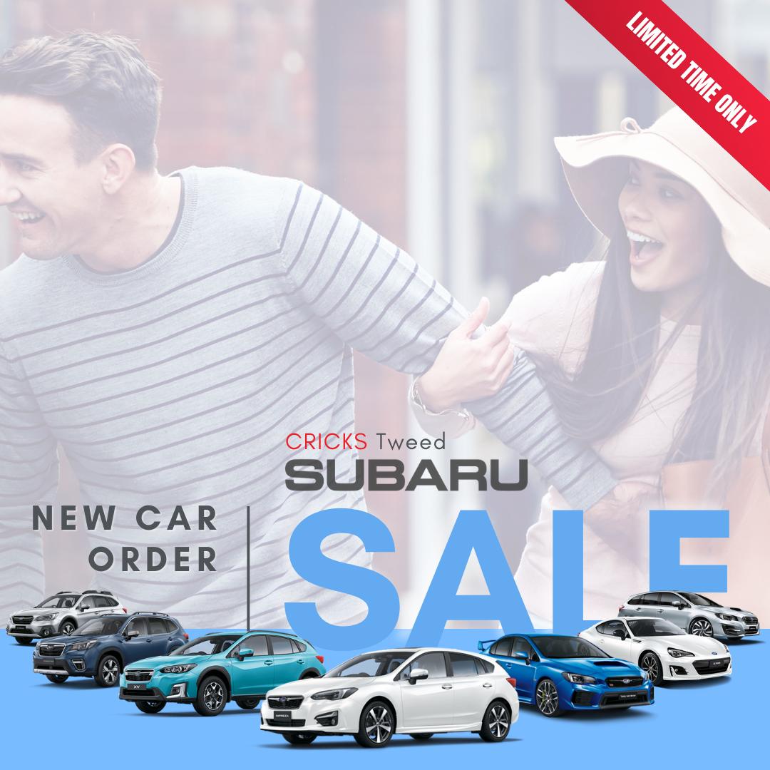 Subaru New Car Order SALE!