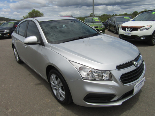 2015 Holden Cruze JH SERIES II MY15 EQUIPE Sedan