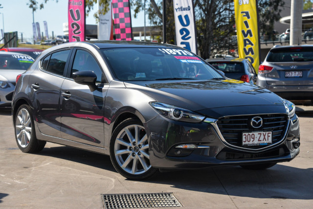 2016 Mazda 3 BN5436 SP25 GT Hatchback