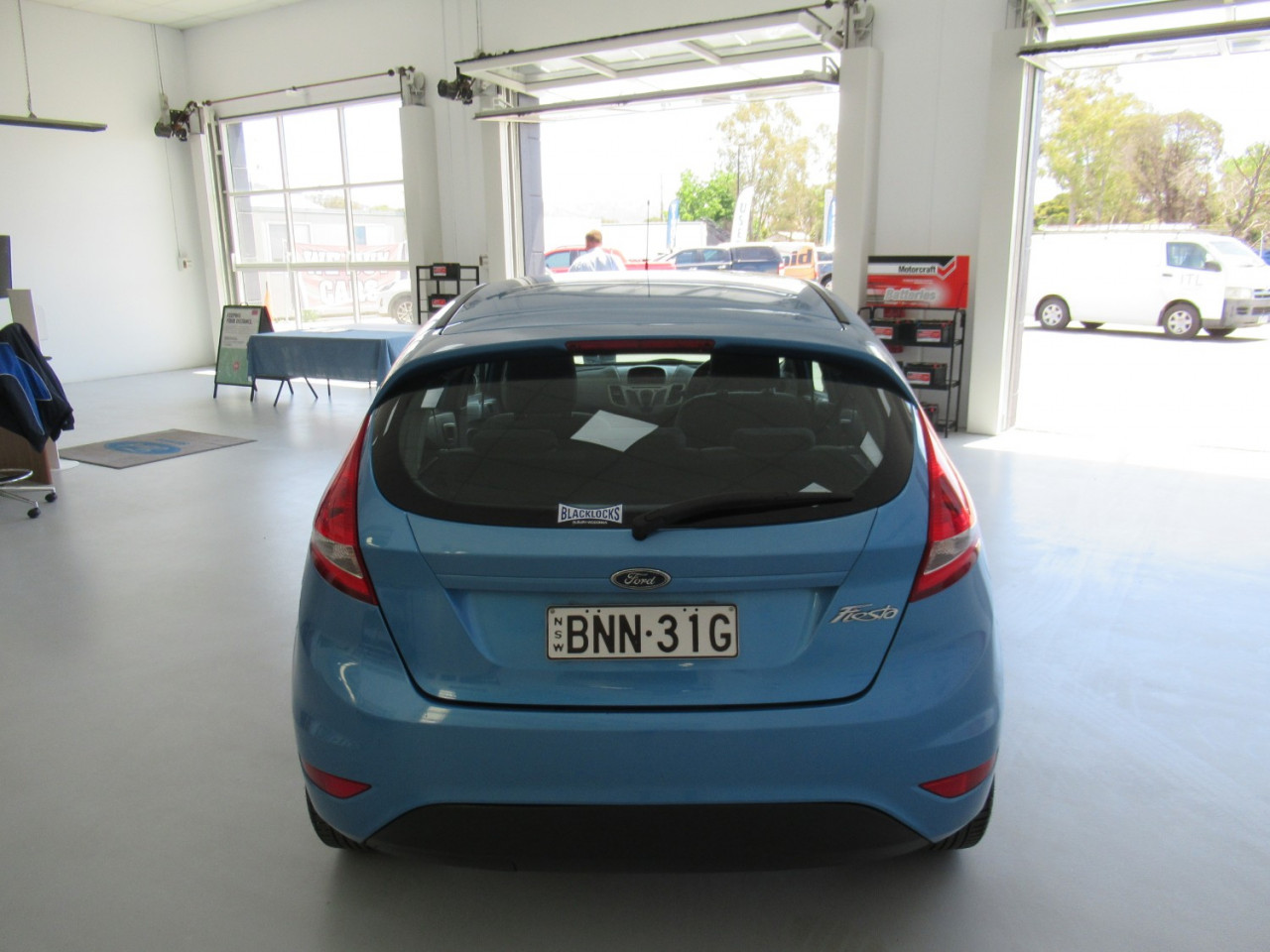2009 Ford Fiesta WS CL Hatchback Image 7