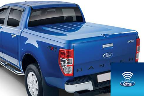 Tonneau cover FLA - hard EGR - 1 piece with RL - Body colour