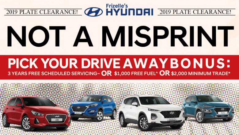 Not A Misprint - Frizelle's Hyundai