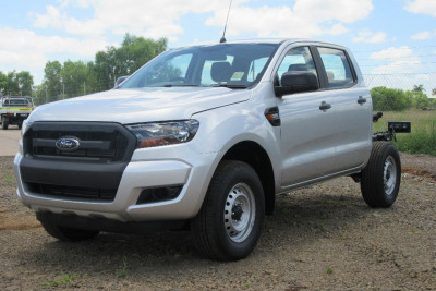 2017 Ford Ranger PX MkII 4x4 XL Double Cab Chassis 3.2L Cab chassis