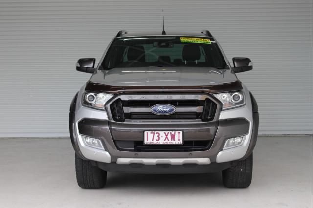 2018 Ford Ranger PX MKII 2018.00MY WILDTRAK Utility Image 3