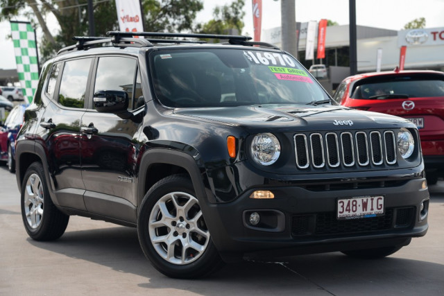 2015 Jeep Renegade BU Longitude Hatchback