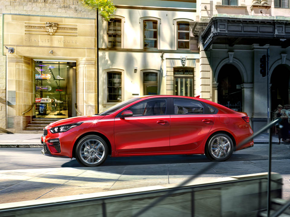 Cerato Sedan Making an entrance comes as standard
