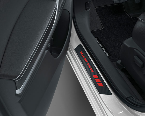 """Scuff Plate with """"Eclipse Cross"""" logo"""